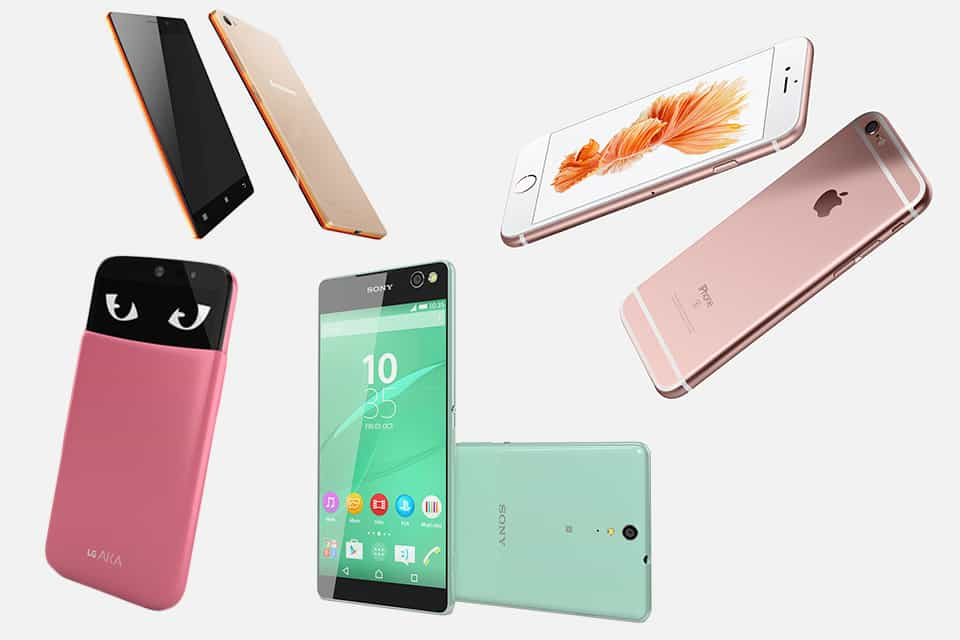 Ce telefoane isi doresc femeile