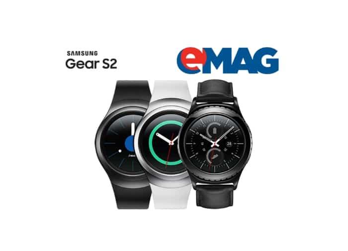 Samsung Gear S2 precomanda la eMAG