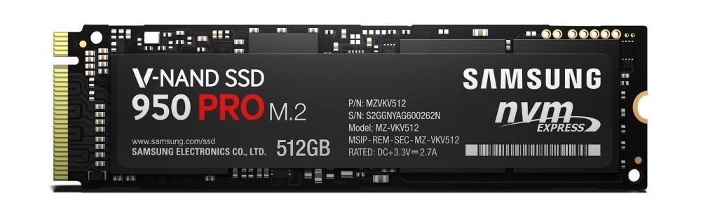 Samsung a lansat SSD-urile 950 PRO NVMe M.2 cu tehnologie V-NAND
