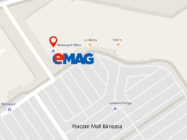 eMAG deschide un nou punct de lucru in Baneasa
