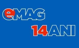 eMAG sarbatoreste 14 ani luni 7 Decembrie 2015