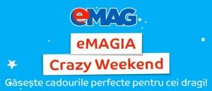 Reduceri noi de Craciun la eMAGIA Crazy Weekend 2015