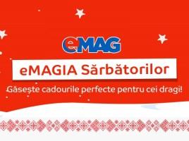 eMAGIA Sarbatorilor-un nou val de reduceri la eMAG pentru Craciun! pp