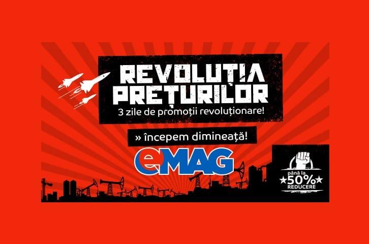 Revolutia Preturilor la eMAG maine 16 Ianuarie 2016