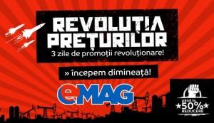 Revolutia Preturilor la eMAG maine 19 Ianuarie 2016