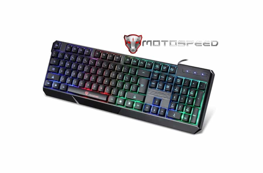 Tastatura MotoSpeed iluminata Unboxing (video)