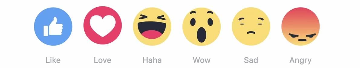 Facebook are butoane noi dar fara dislike