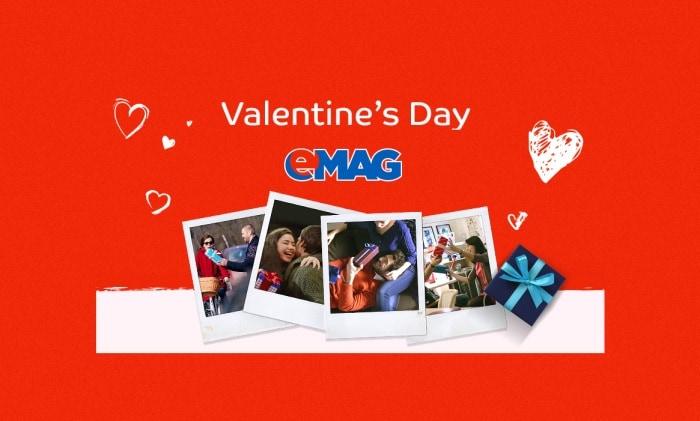 Reduceri de Valentine's Day la eMAG