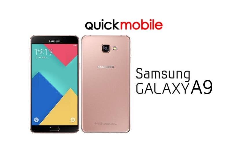 Samsung Galaxy A9 in oferta celor de la QuickMobile