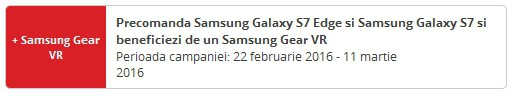 Samsung Galaxy S7 si S7 Edge precomanda la eMAG, Altex, Flanco, Vodafone...