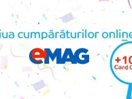 eMAG Ziua Cumparaturilor Online Martie 2016
