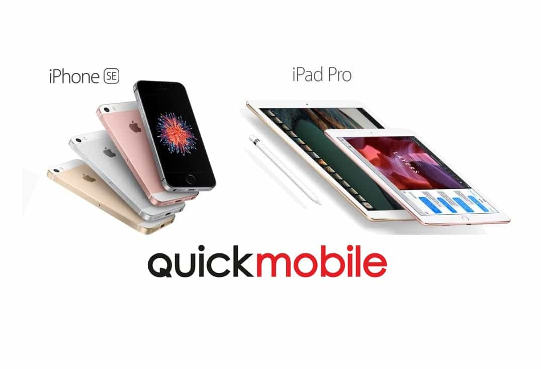 iPhone SE si iPad Pro precomanda in Romania prin QuickMobile