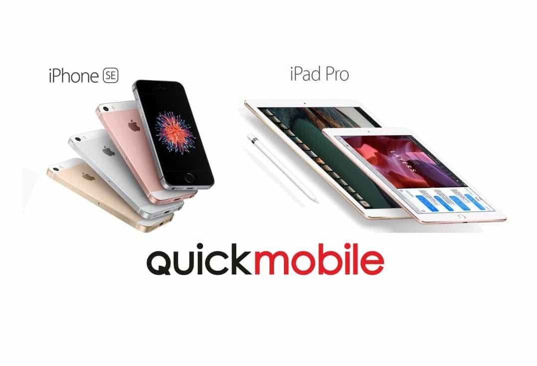 iPhone SE si iPad Pro precomanda in Romania prin QuickMobile