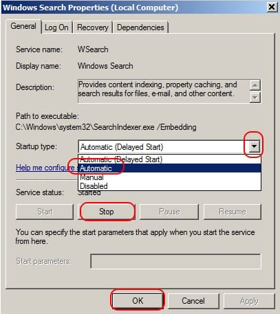 Ce faci cand Windows Search nu-ti gaseste fisierele de pe HDD proprietati