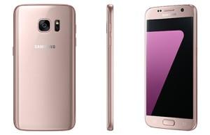 Samsung a lansat varianta Pink Gold pentru Galaxy S7 si S7 Edge