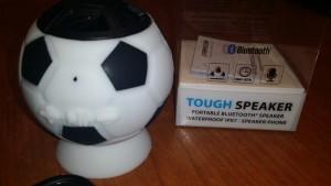 Castiga Boxa portabila Freecom Waterproof-Fotbal Edition