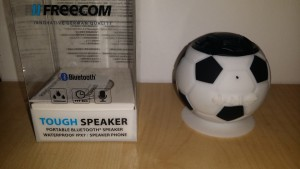 Castiga Boxa portabila Freecom Waterproof-Fotbal Edition2