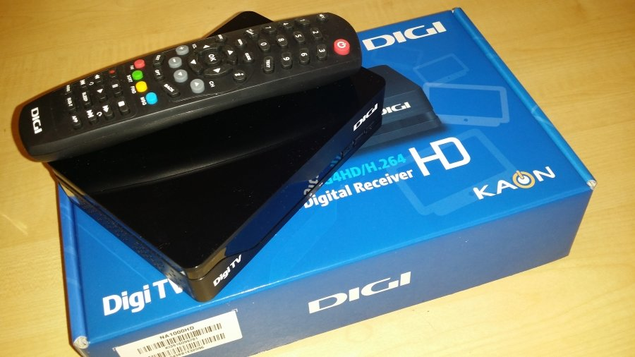 Kaon NA1000 HD - Decodor de Satelit DIGI (Unboxing)
