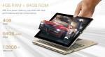 Teclast Tbook 10-Tableta PC 2 in 1 cu Android 5.1 si Windows 10