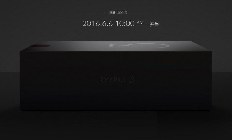 OnePlus 3 la precomanda inainte de lansare, pe 6 Iunie!