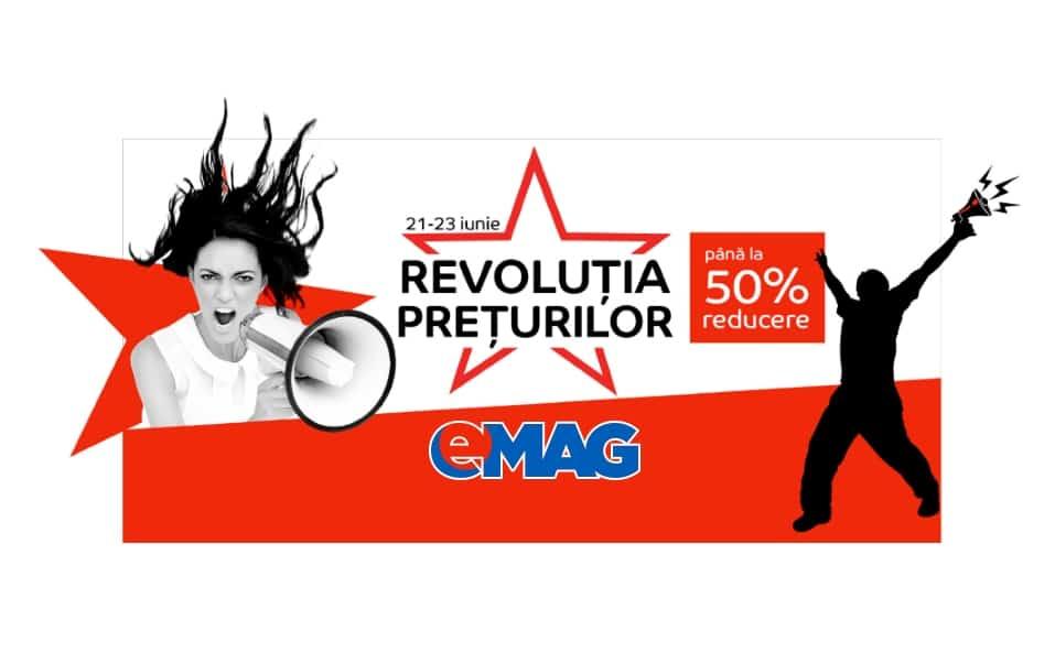 Revolutia preturilor la eMAG 21-23 Iunie 2016