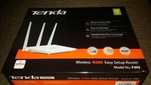 Router Tenda N300 F303 cu instalare super simpla plus Unboxing