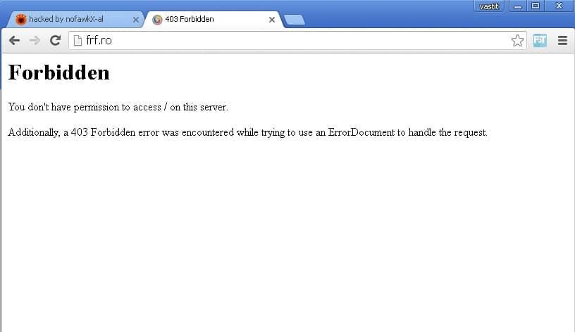 Site-ul FRF spart de hackerii albanezi!