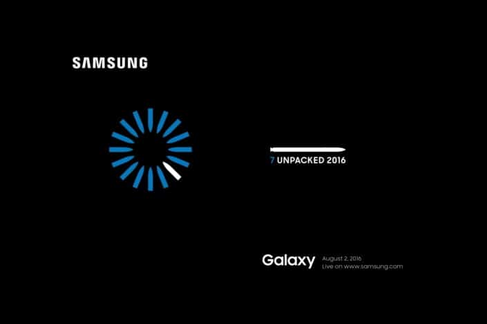 Samsung Galaxy Note 7 are lansarea oficiala pe 2 August ss