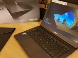 Ultrabook ASUS ZenBook-Unboxing si mini test16