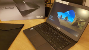 Ultrabook ASUS ZenBook-Unboxing si mini test