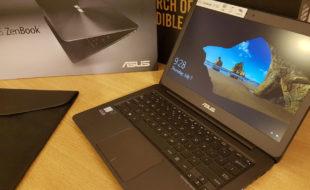 Ultrabook ASUS ZenBook-Unboxing si mini test16
