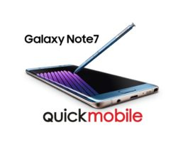 Galaxy Note 7 disponibil la QuickMobile!