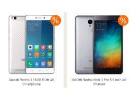 Reduceri mari la XiaoMi Redmi Note 3 Pro si Redmi 3
