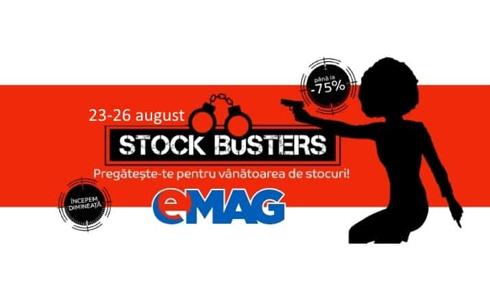 eMAG Stock Busters 23-26 August 2016