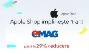 Oferte bune dupa un an de eMAG Apple Shop (vineri 16 Septembrie la ora 8:00 AM)!