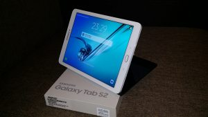 Testam Samsung Galaxy Tab S2 SM-T815 cu 4G (Unboxing video)