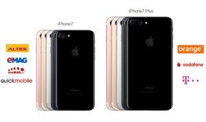 iPhone 7 la precomanda in Romania