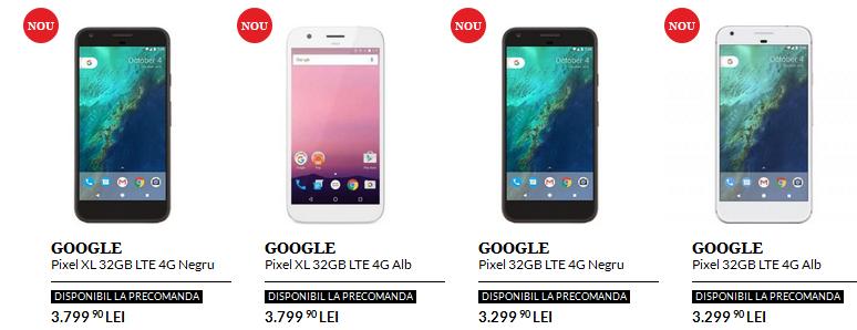 Pixel si Pixel XL disponibile in Romania la precomanda prin QuickMobile