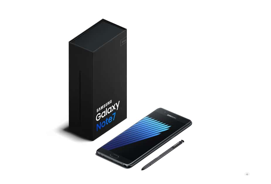 Samsung opreste vanzarile pentru Galaxy Note7