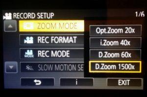 Zoom test Panasonic HC-VX980 cu 4K si WIFI