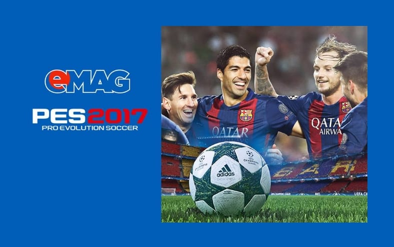 eMAG Crangasi organizeaza campionatul Pro Evolution Soccer 2017