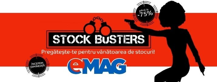 eMAG Stock Busters 11 Octombrie 2016