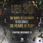 Ubisoft 30 de zile de Giveaways cu 300 de jocuri