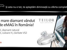 Black Friday 2016 eMAG: cel mai mare diamant vandut online in Romania