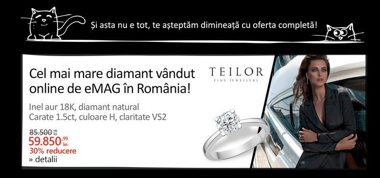 Black Friday 2016 eMAG: cel mai mare diamant vandut online in Romania