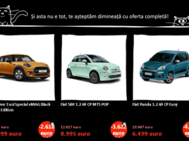 Autoturisme la eAMG de Black Friday 2016