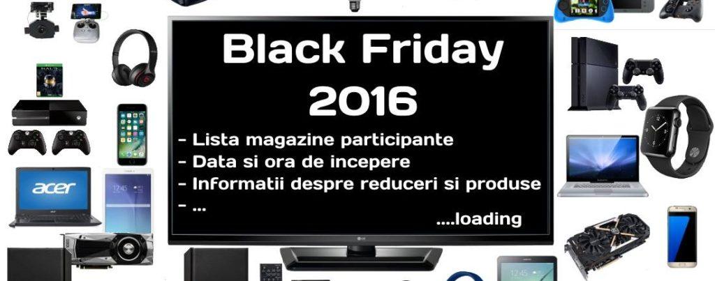 Cele mai bune oferte de Black Friday 2016