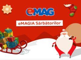 eMAGIA Sarbatorilor 2016-un nou val de reduceri la eMAG pentru Craciun!