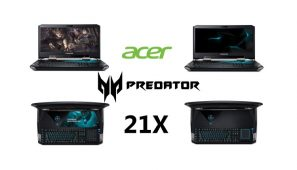 Acer Predator 21X este disponibil in Romania, pret si specificatii