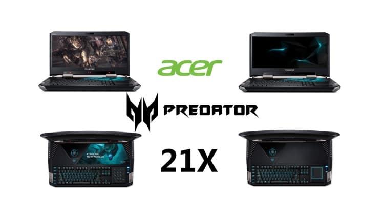 CES 2017 - Acer Predator 21 X primul notebook cu ecran curbat din lume